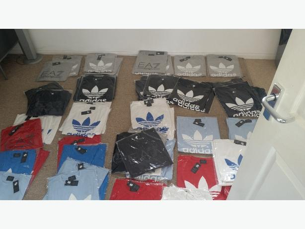POLO RALPH / ADIDAS T SHIRTS ALL SIZE AND COLOUR