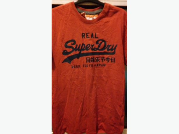 superdry top & lyle&scott top size large