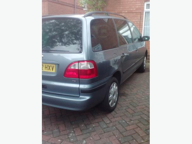 02 PLATE GALAXY 1.9TDI MOT, 7 SEATER  SWAP WELCOME