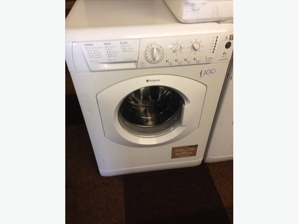 HOTPOINT 6KG WHITE WASHING MACHINE2