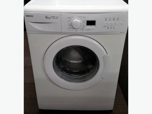 BEKO 6KG 1500 SPIN WASHING MACHINE + WARRANTY