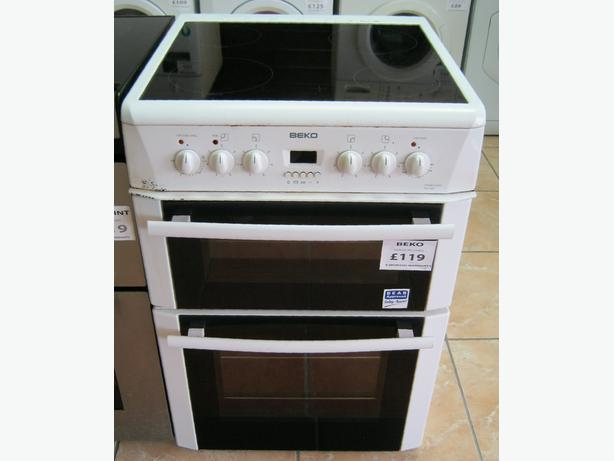 Reduced to clear - Beko 60cm Electric Cooker with Warranty