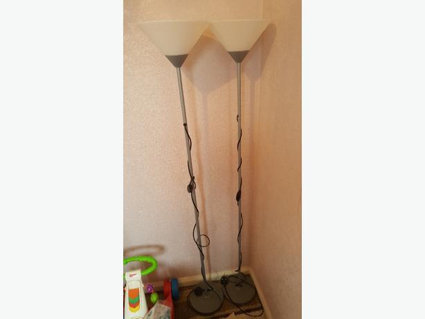 x2 floor lamps