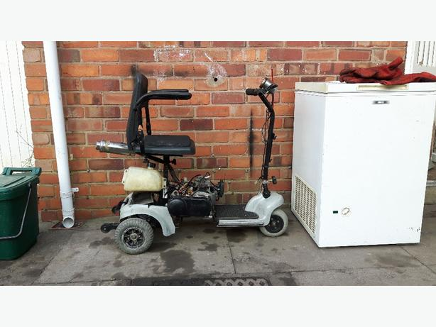 60cc 2 stroke mobility scooter