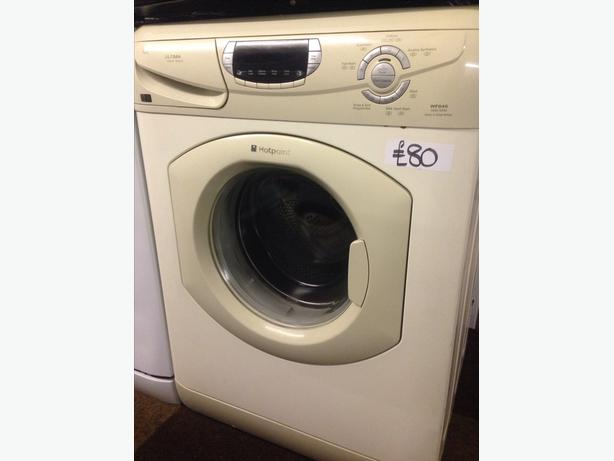 HOTPOINT WASHING MACHINE LCD DISPLAY ULTIMA SUPER SILENT1