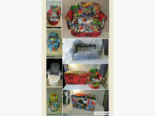 children's chairs to adult items