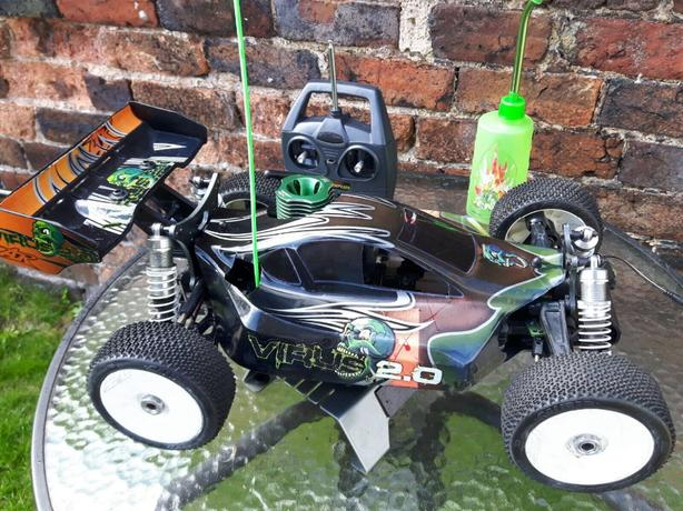 ansmann 2.0 rc petrol car