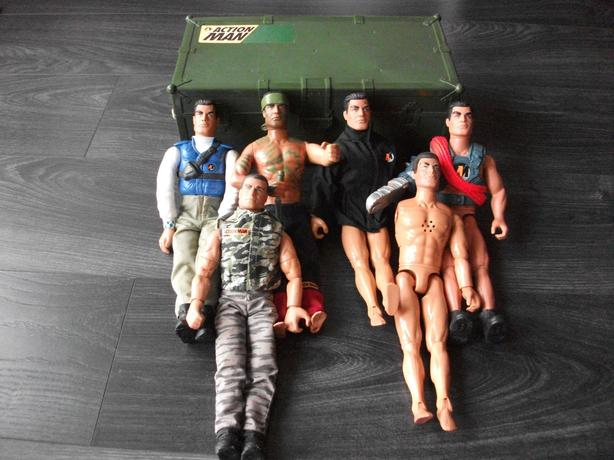 Action Man figures