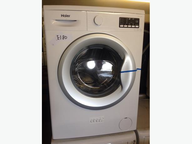 GRADED / NEW HAIER WASHING MACHINE 1200 SPIN