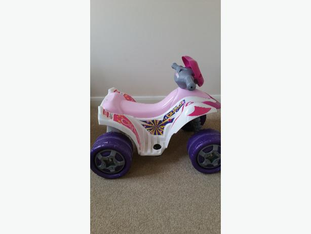girls electric quad
