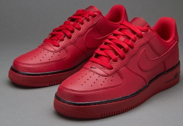 Nike Air Force1 07 Pivot Red West Bromwich Dudley