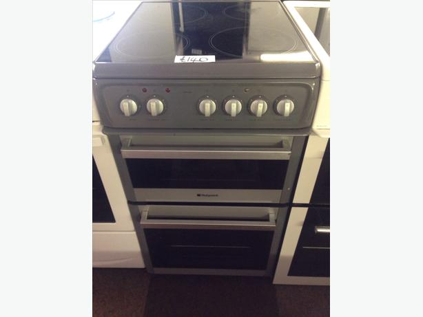 HOTPOINT ELECTRIC COOKER 50CM GREY1