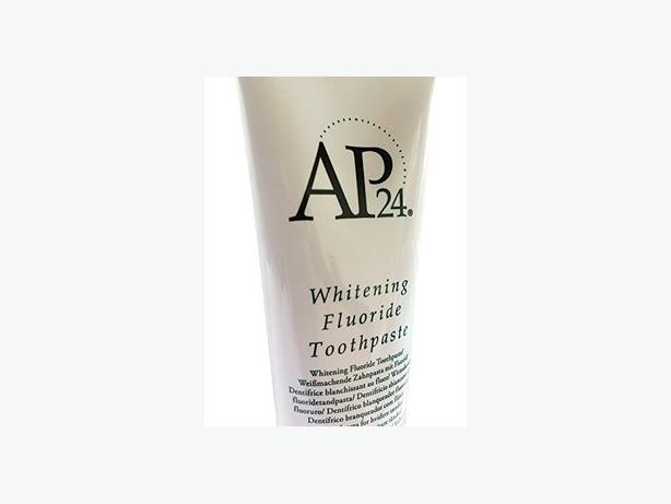 AP24 Whitening Fluoride Toothpaste, peroxide free by NuSkin, New + sealed.