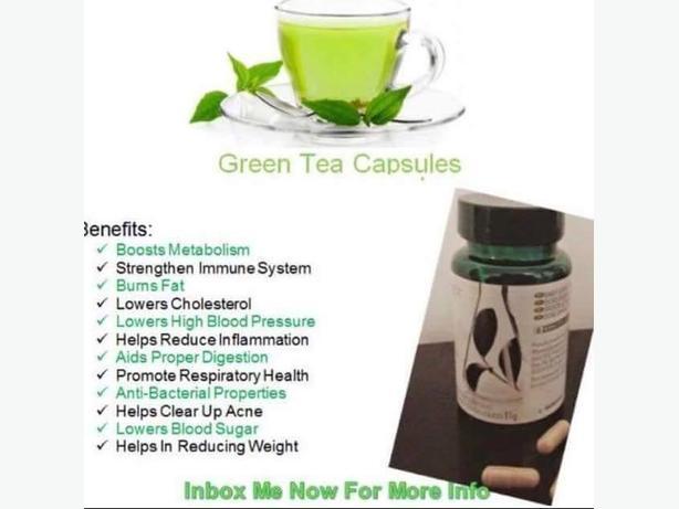 PHARMANEX GREEN TEA CAPSULES, weight loss, boosts metabolism