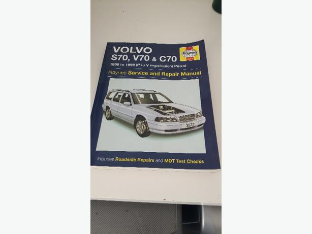 volvo v70 S70 Haynes manual