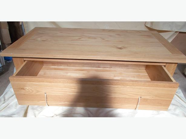 Wooden Coffee Table/ Ottoman