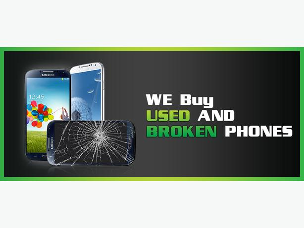 WANTED: BROKEN /NO SIGNAL/BLOCKED/PHONES/iphone/samsung