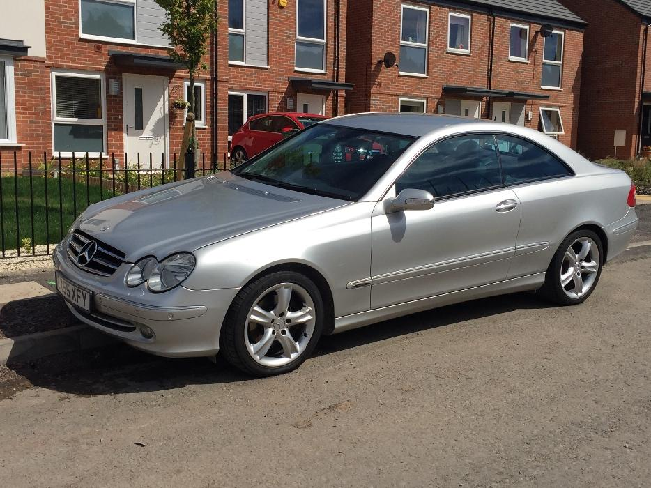 Mercedes clk 2 7 avantgarde cdi auto 55 plate bilston dudley for Mercedes benz strategic plan