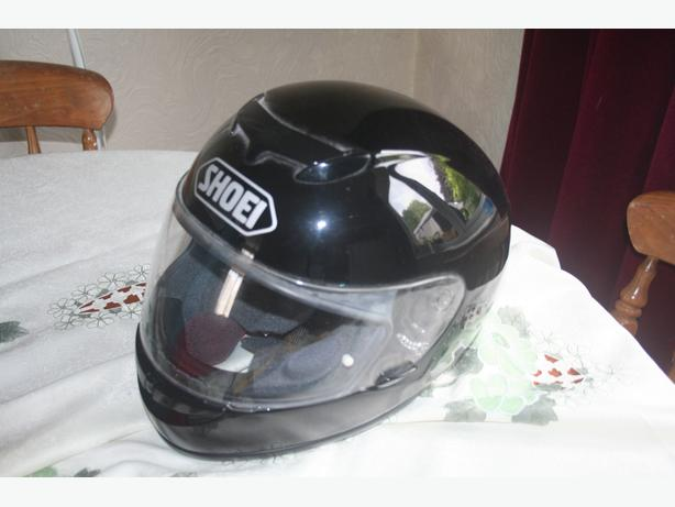 SHOEI RAID II MOTORCYCLE CRASH HELMET
