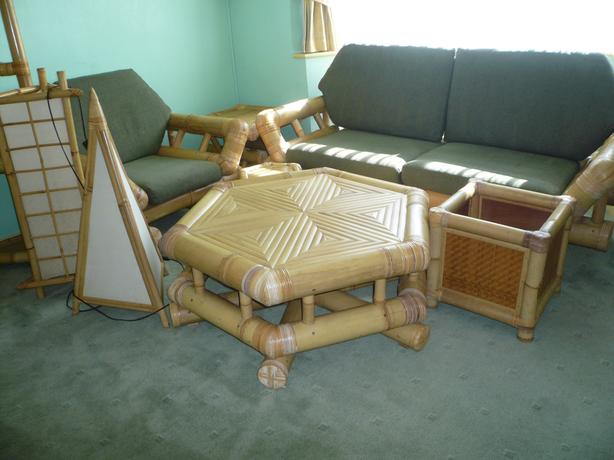 Bamboo Conservatory Furniture - An Amazing Set !!