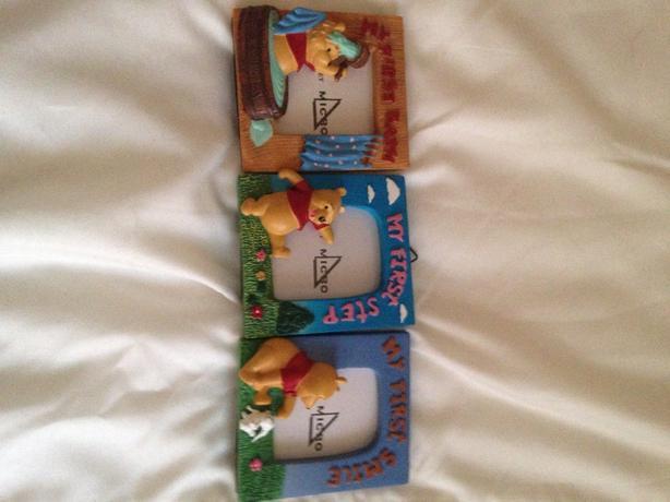 winnie the pooh baby photo frames