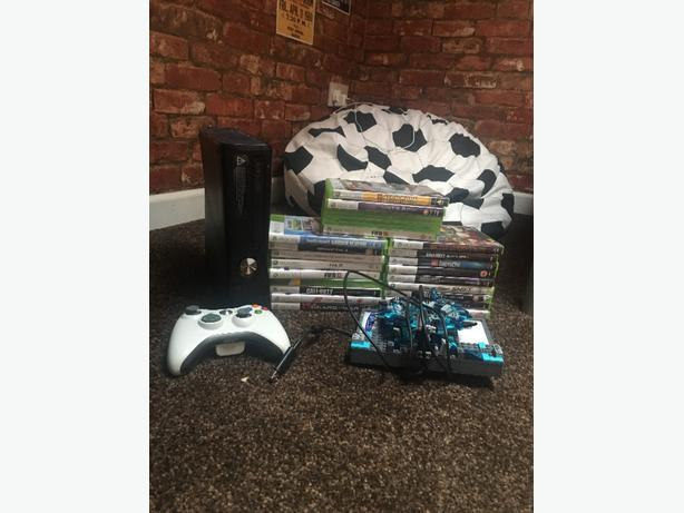 xbox 360 + loads of games