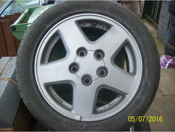 MR2 Wheels and Tyres