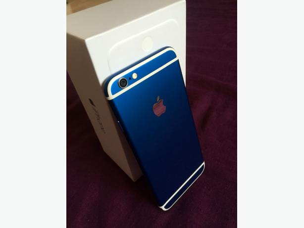 iphone 6 blue edtion unused and pristine condition