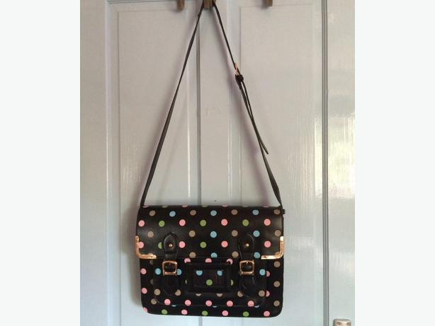Girls/Womens Polka Dot satchel bag