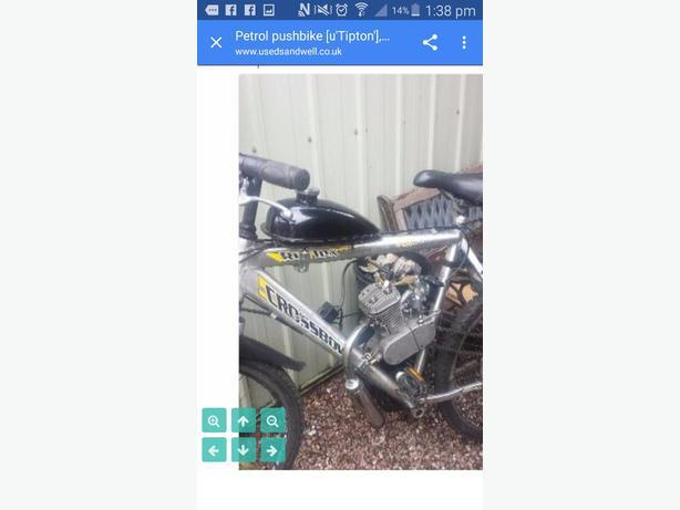 80 cc pushbike