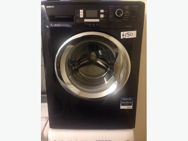 BEKO BLACK WASHING MACHINE LCD DISPLAY1