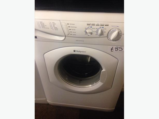 6KG HOTPOINT WASHING MACHINE 1400 SPIN..