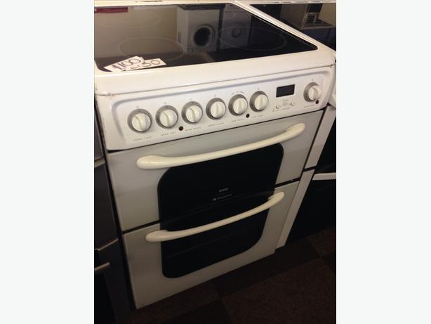 CREDA HOTPOINT ELECTRIC COOKER 60CM DOUBLE OVEN