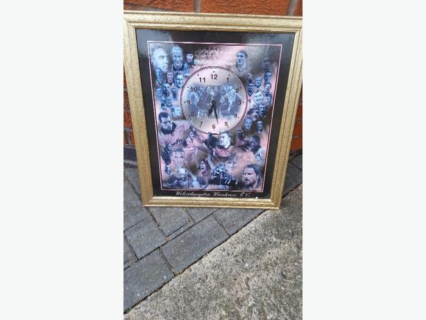 Wolverhampton wanderers clock
