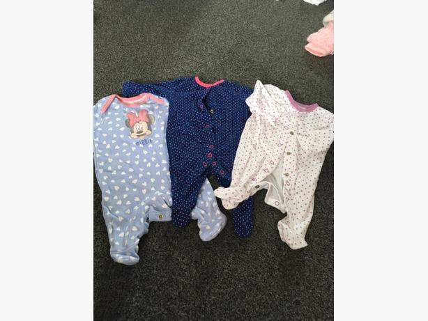 huge bundle of baby girls clothes