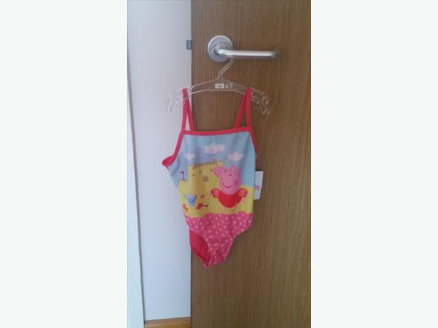 Brand New Peppa Pig Swimming Costume Age 4 and 5