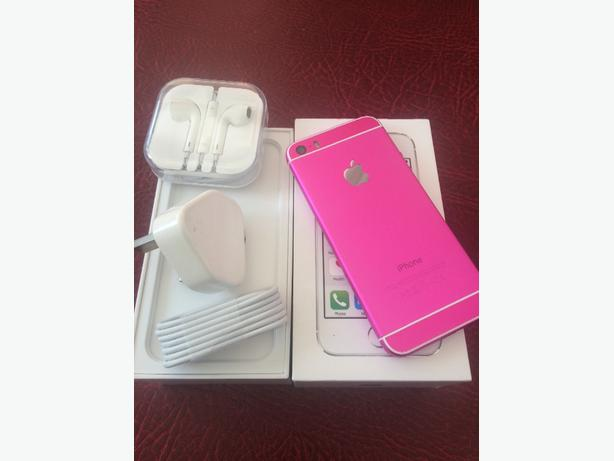 iphone 5s 16gb 6s style hot pink edition