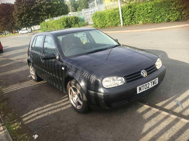 Vw golf 2002 1.6 mot Jan 2017 twsaollys cdplayer pas ew