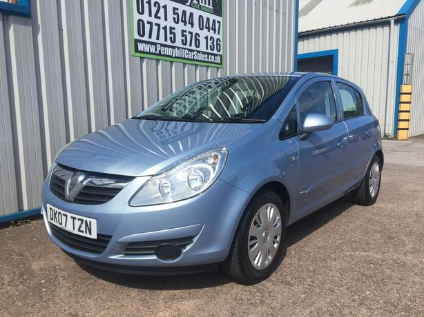 2007 Vauxhall Corsa 1.2 Club *ONLY 64,000 MILES* *FINANCE AVAILABLE*