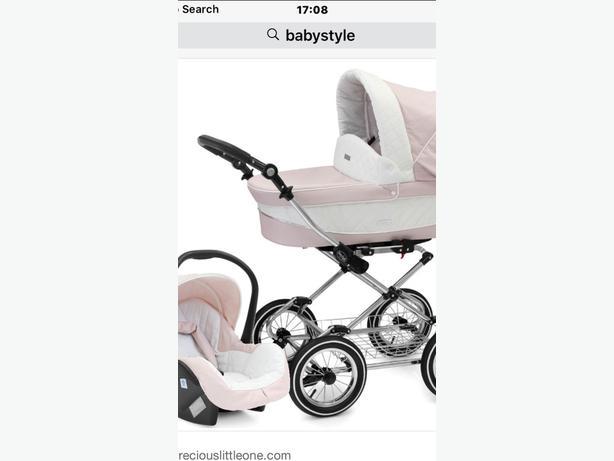 babystyle prestige 3 in 1 pram (new)