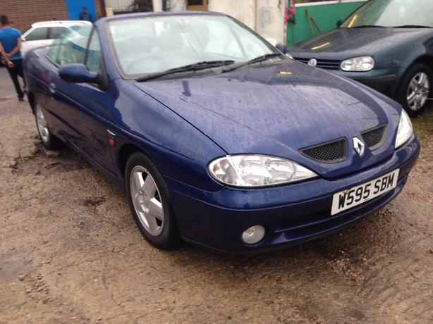 renault megane convertable moted 505