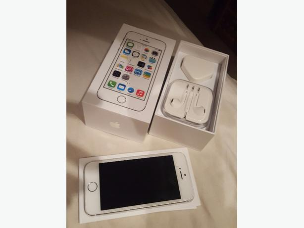 i phone 5s in box. used. good condition free simcard with credit