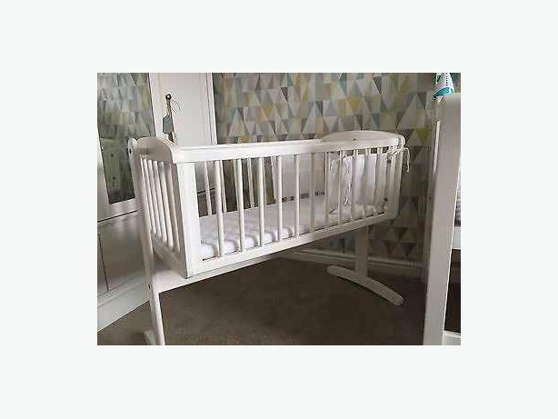 swinging low sided crib baby boys walker an baby chair