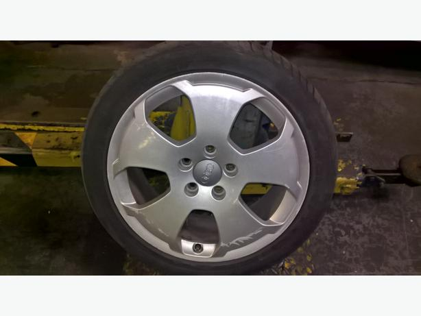 audi s line alloys set of 4 with or without tryes