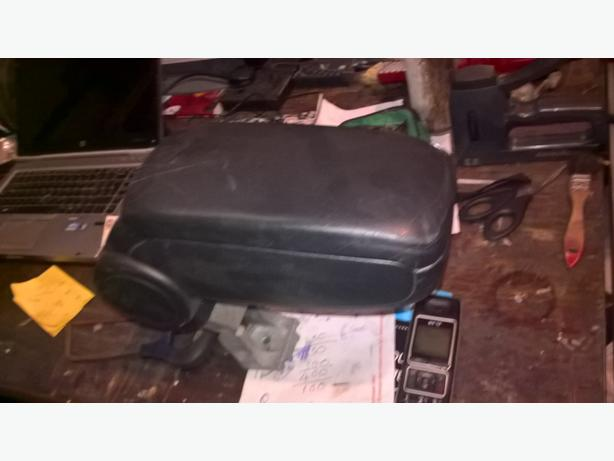 audi a3 arm rest black leathers