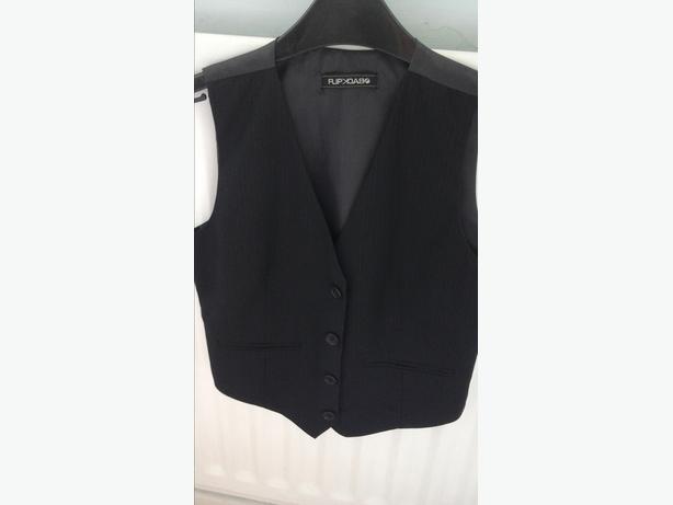 Age 9 black waistcoat
