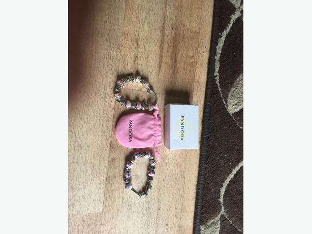 2 pandora bracelets