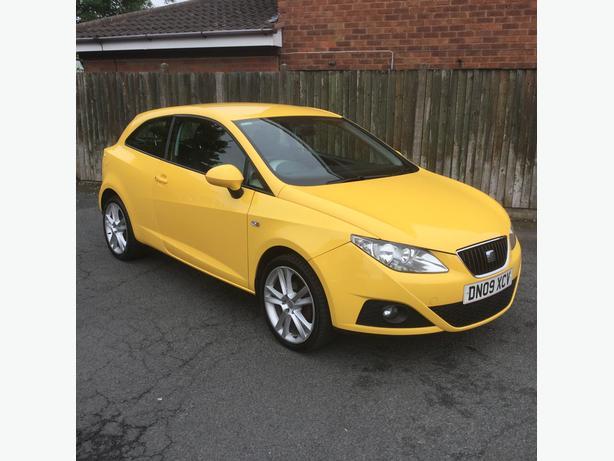 Seat Ibiza 1.4 sport coupe 2009 sports yellow