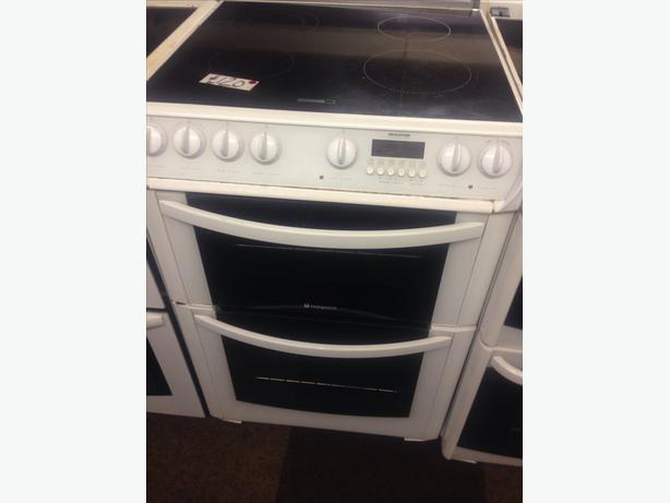 HOTPOINT ELECTRIC COOKER 60CM FAN ASSISTED DOUBLE OVEN2