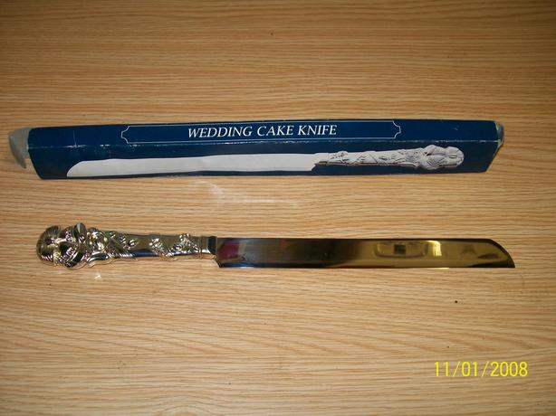 wedding cake knife